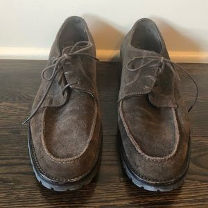 To Boot New York Brown Suede Oxford - size 10